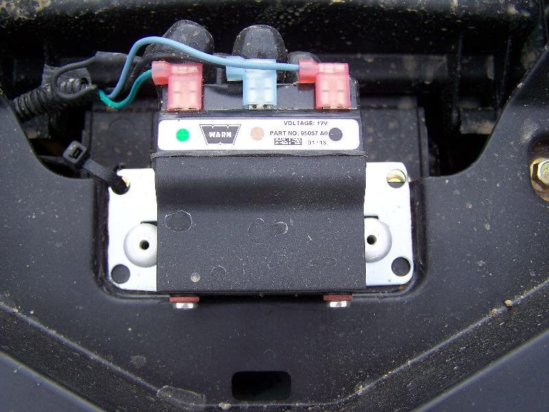 warn provantage 4500 winch install page 5 Can-Am Maverick XRS 1000 Wiring name 100_9323 jpg views 1617 size 165 9 kb