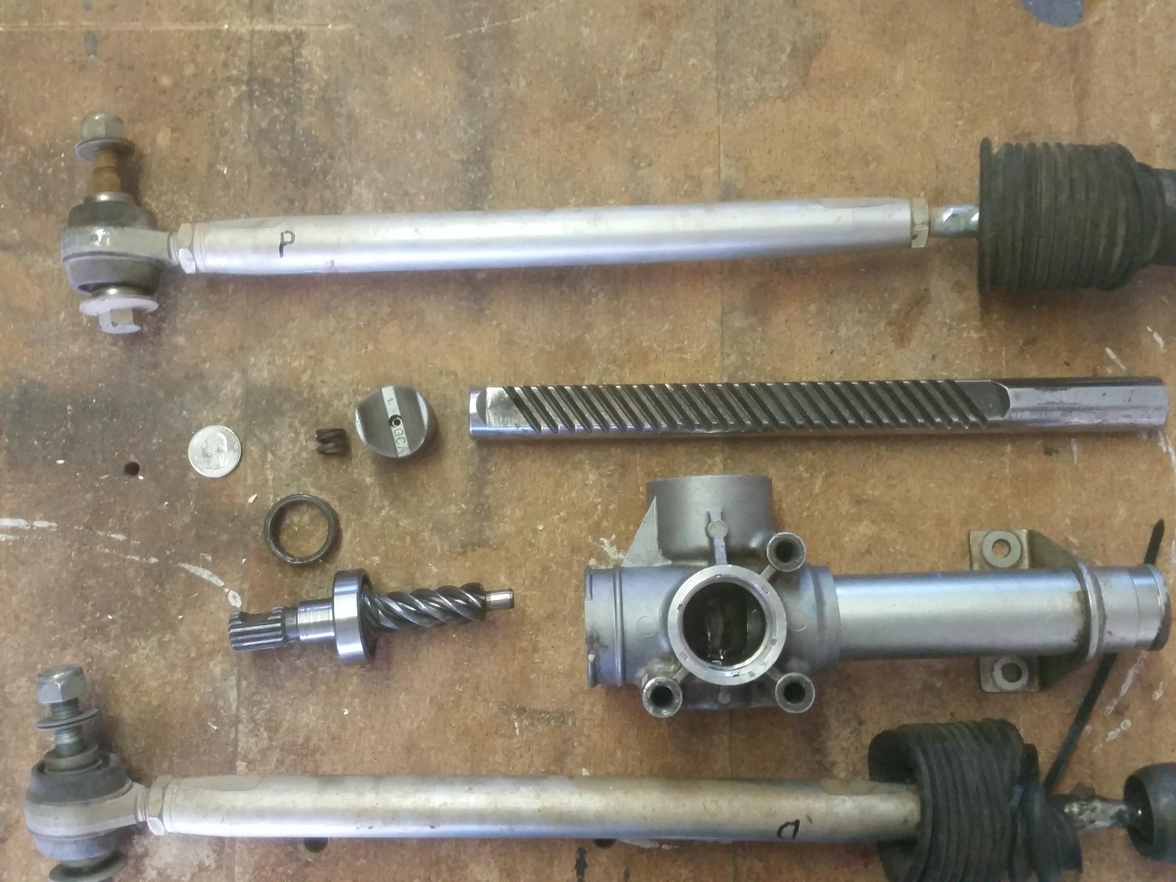 How To Rebuild A Loose Steering Rack