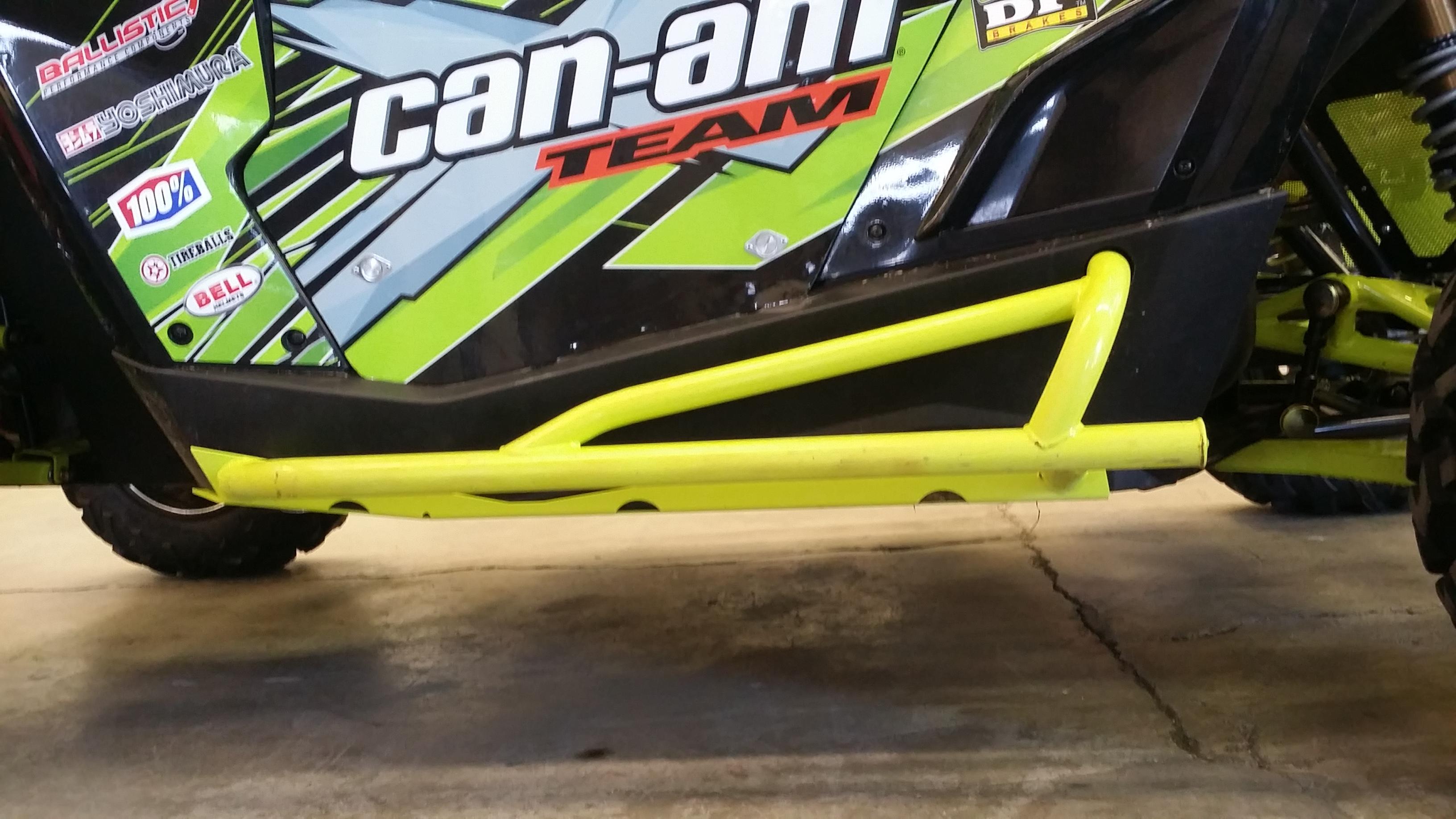 CT Race Worx Rock Sliders/Nerf Bars