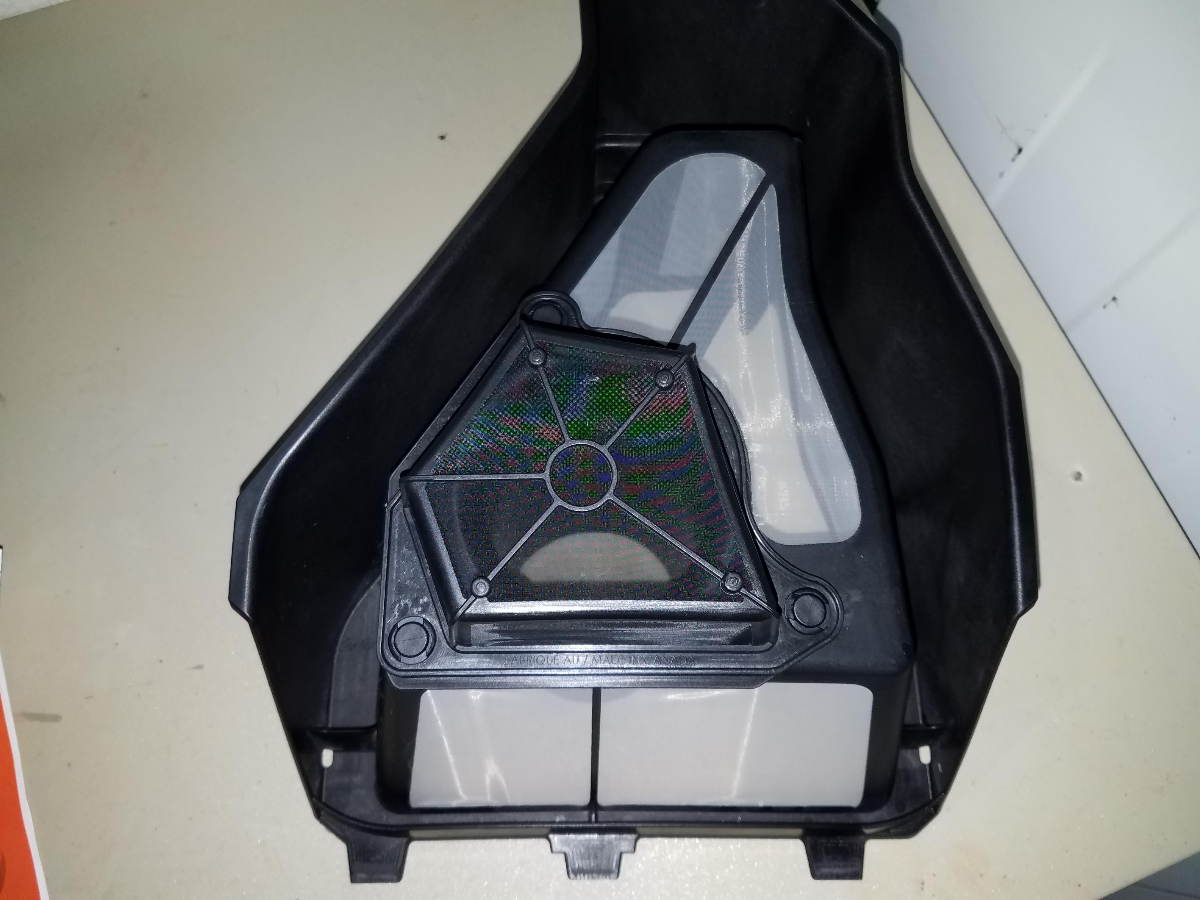 optional canam x3 air intake prefilter. Black Bedroom Furniture Sets. Home Design Ideas