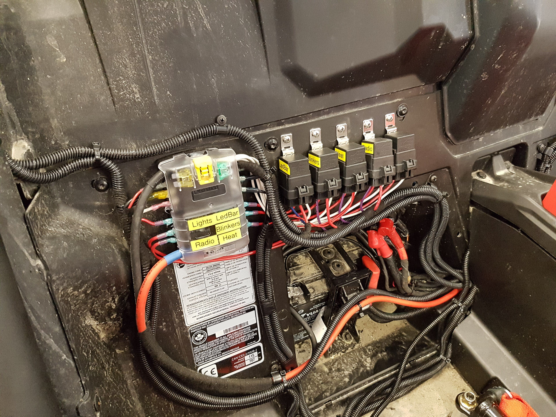 Maverick X3 Fuse Box Electrical Wiring Diagrams My Xds Build Max