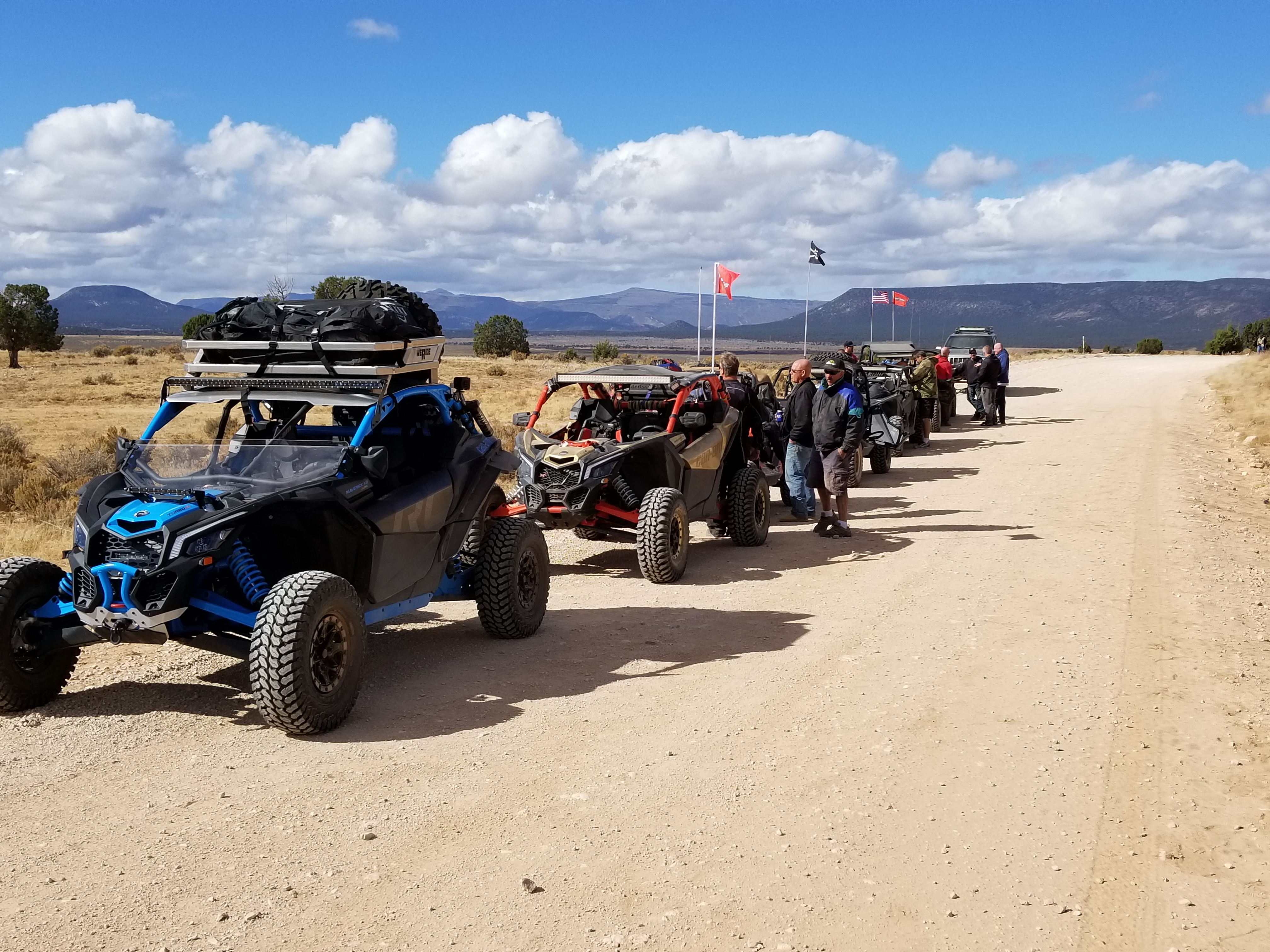 What's on your Adventure Rack?   Can-Am Maverick Forum