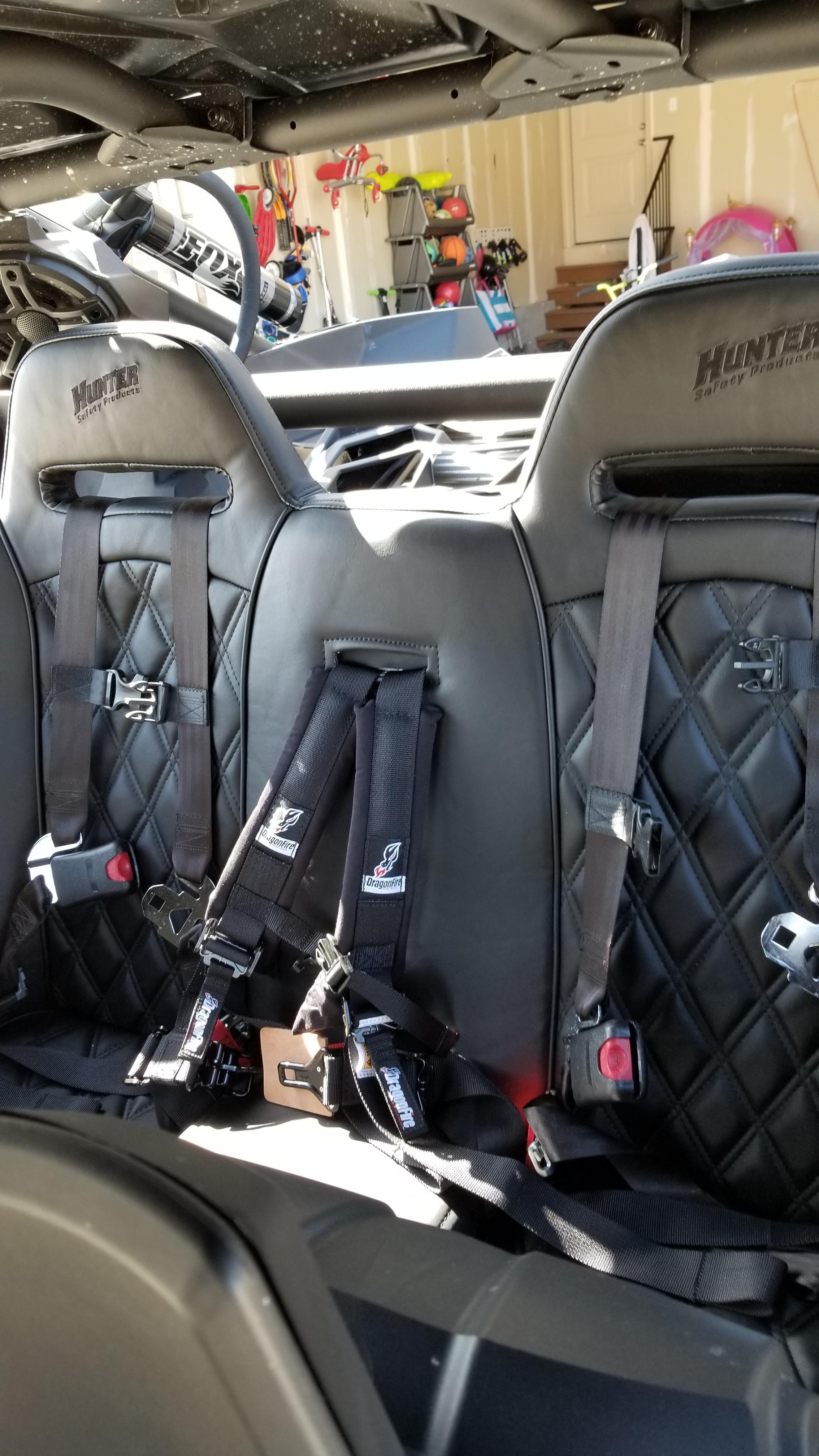 Can Am Maverick X3 Max Bench Seat