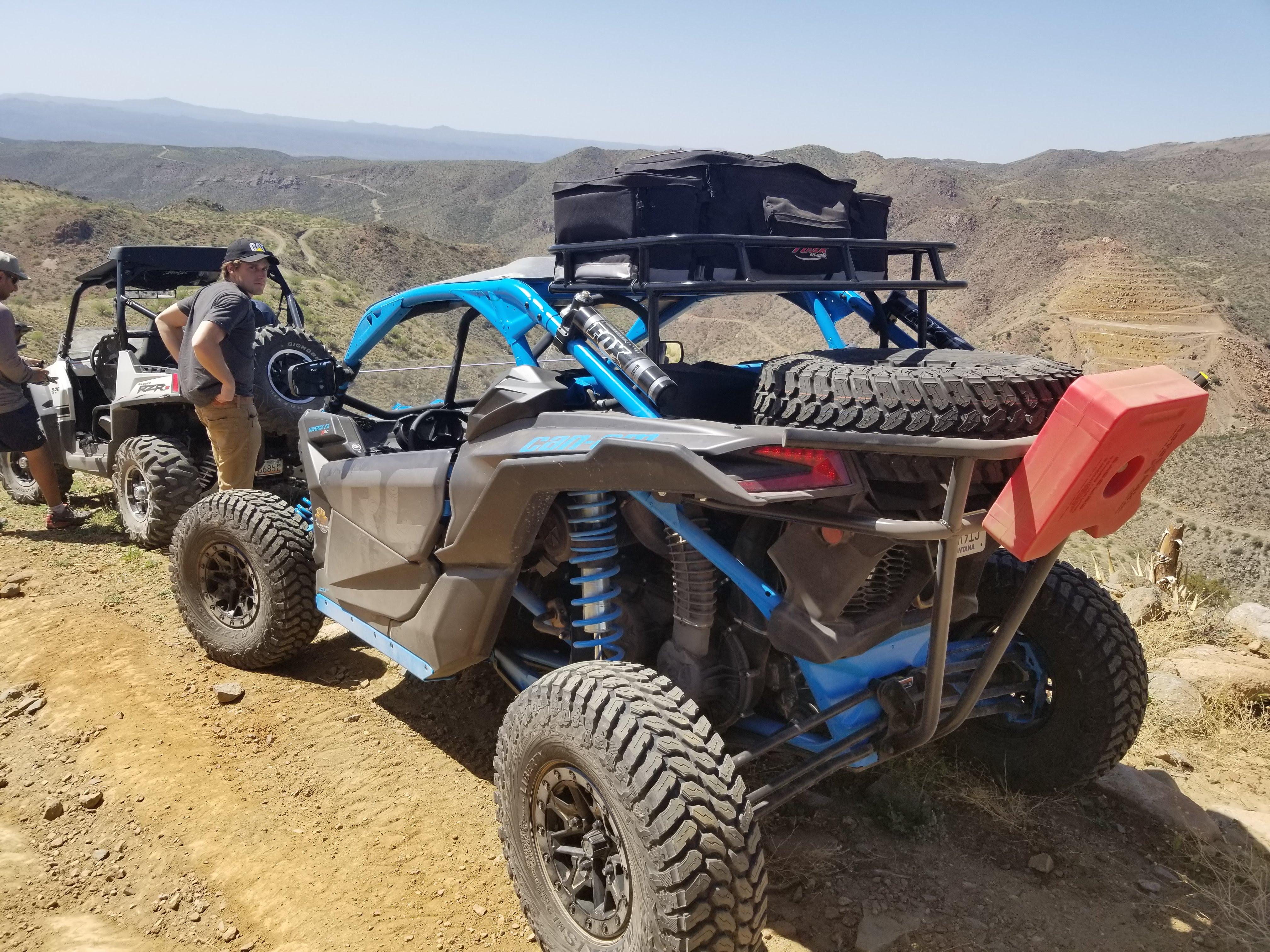 X3rc Tire Rack Roof Rack Custom Built