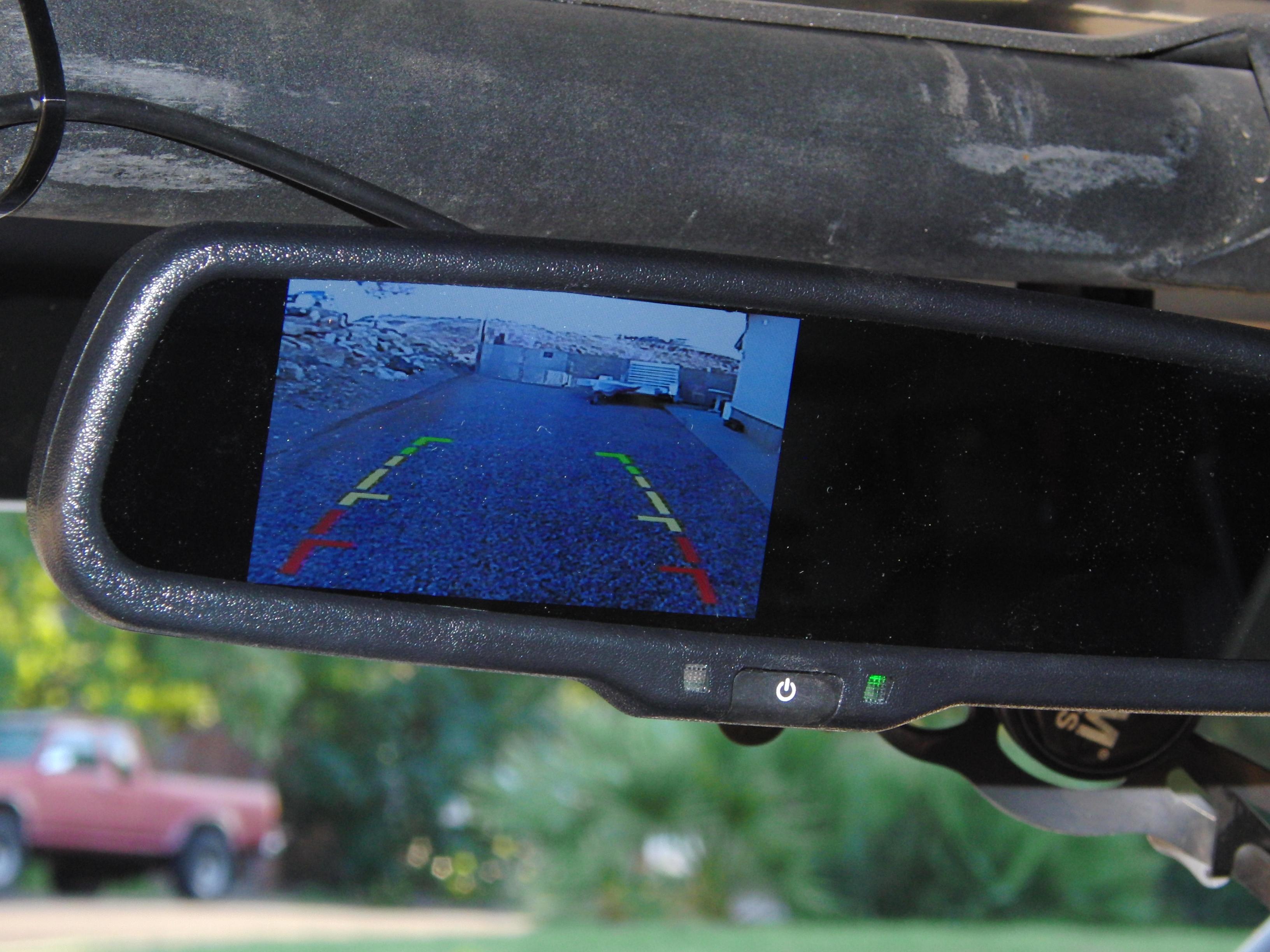 Rear View Camera Mirror