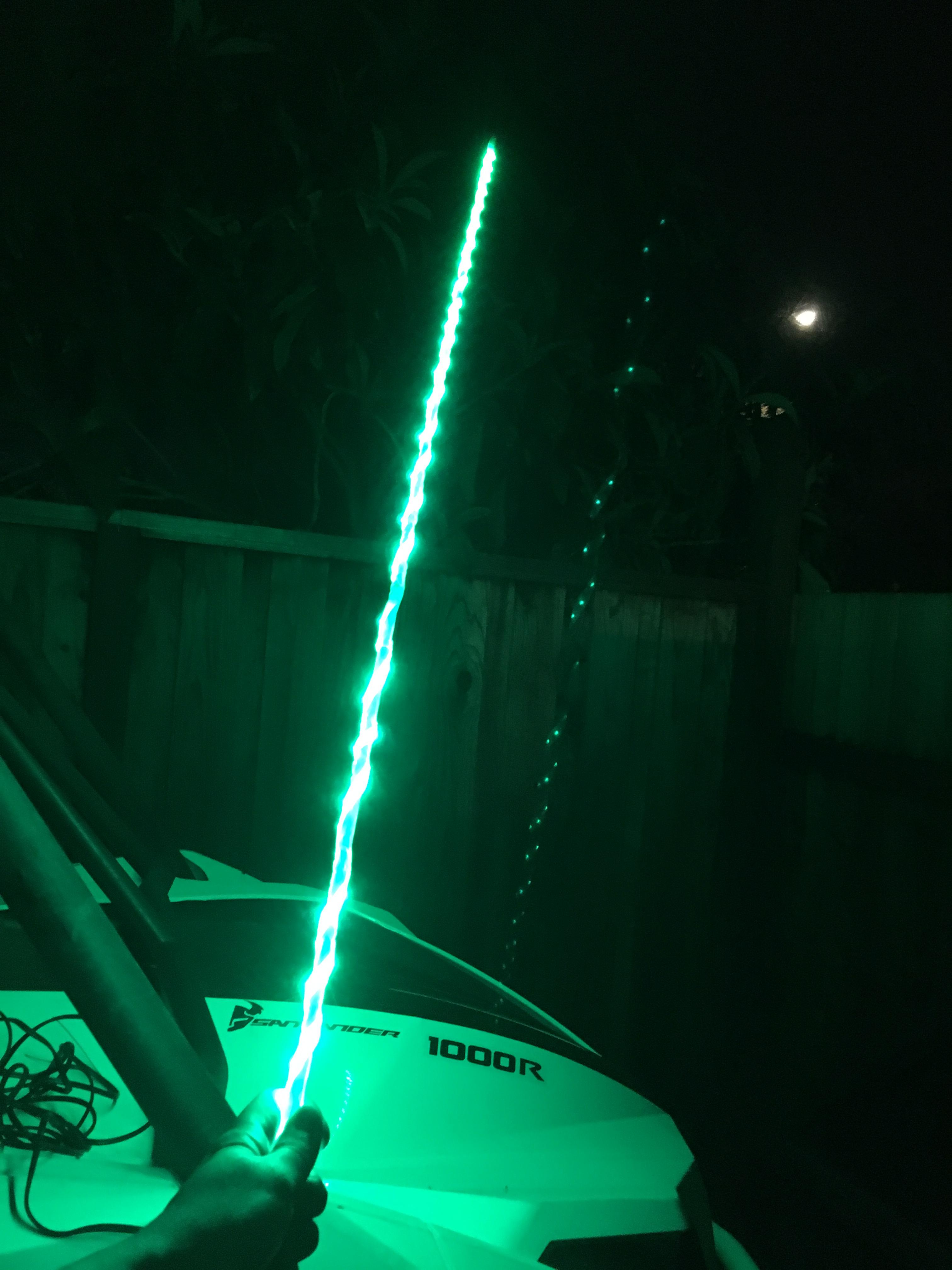 Make Your Own Lighted Whip Flag For Under 25 Bucks