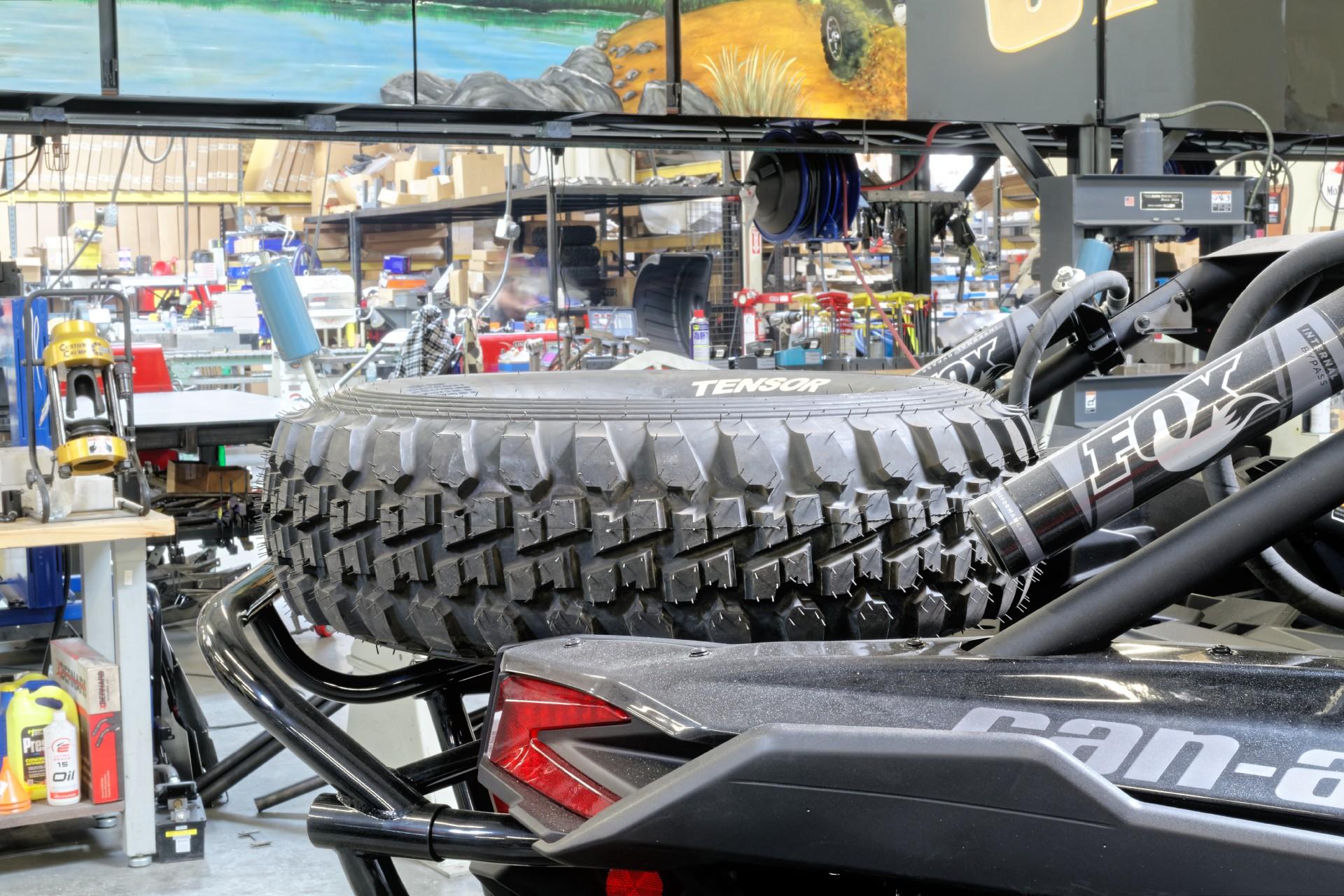 Can Am Maverick Forum >> Utv inc can am maverick x3 rear bumper spare tire carrier