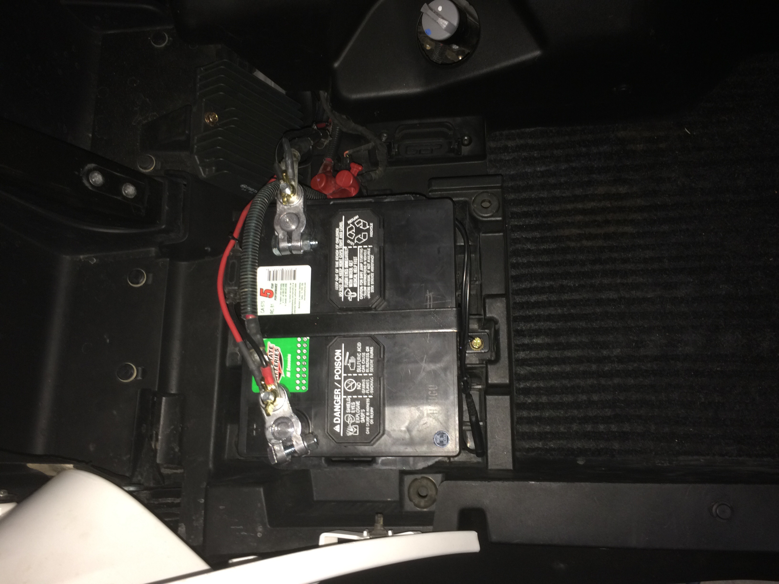 Best Second Battery Location In A 2014 Maverick Max Xrs 1000