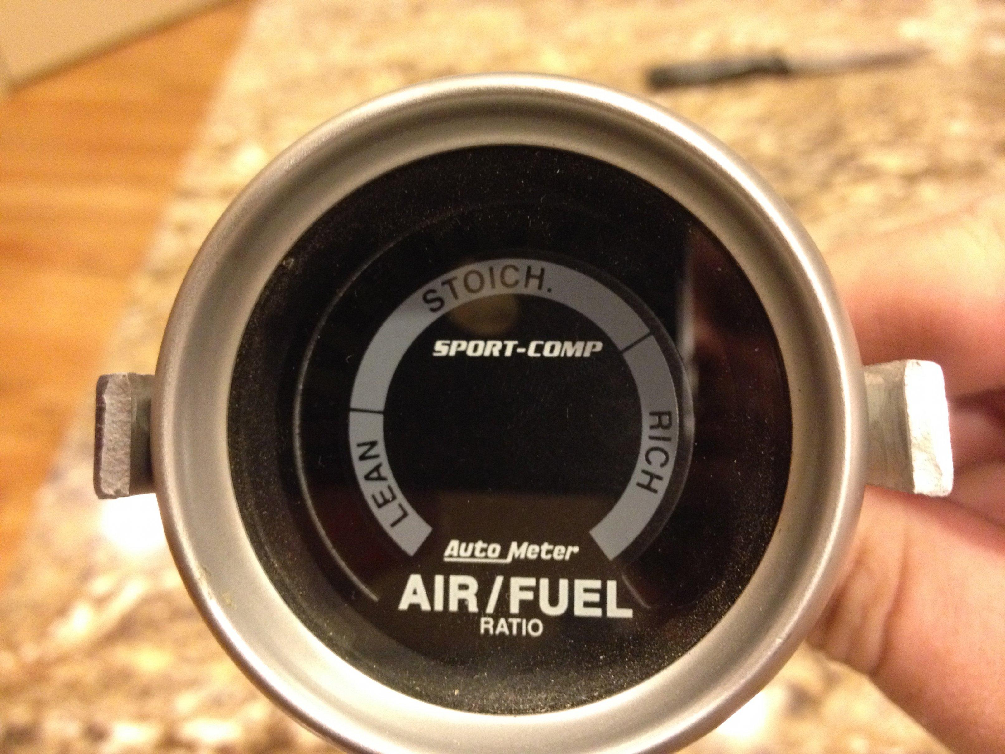 Auto Meter Sport Comp Series Afr Gauge And O2 Sensor Kit