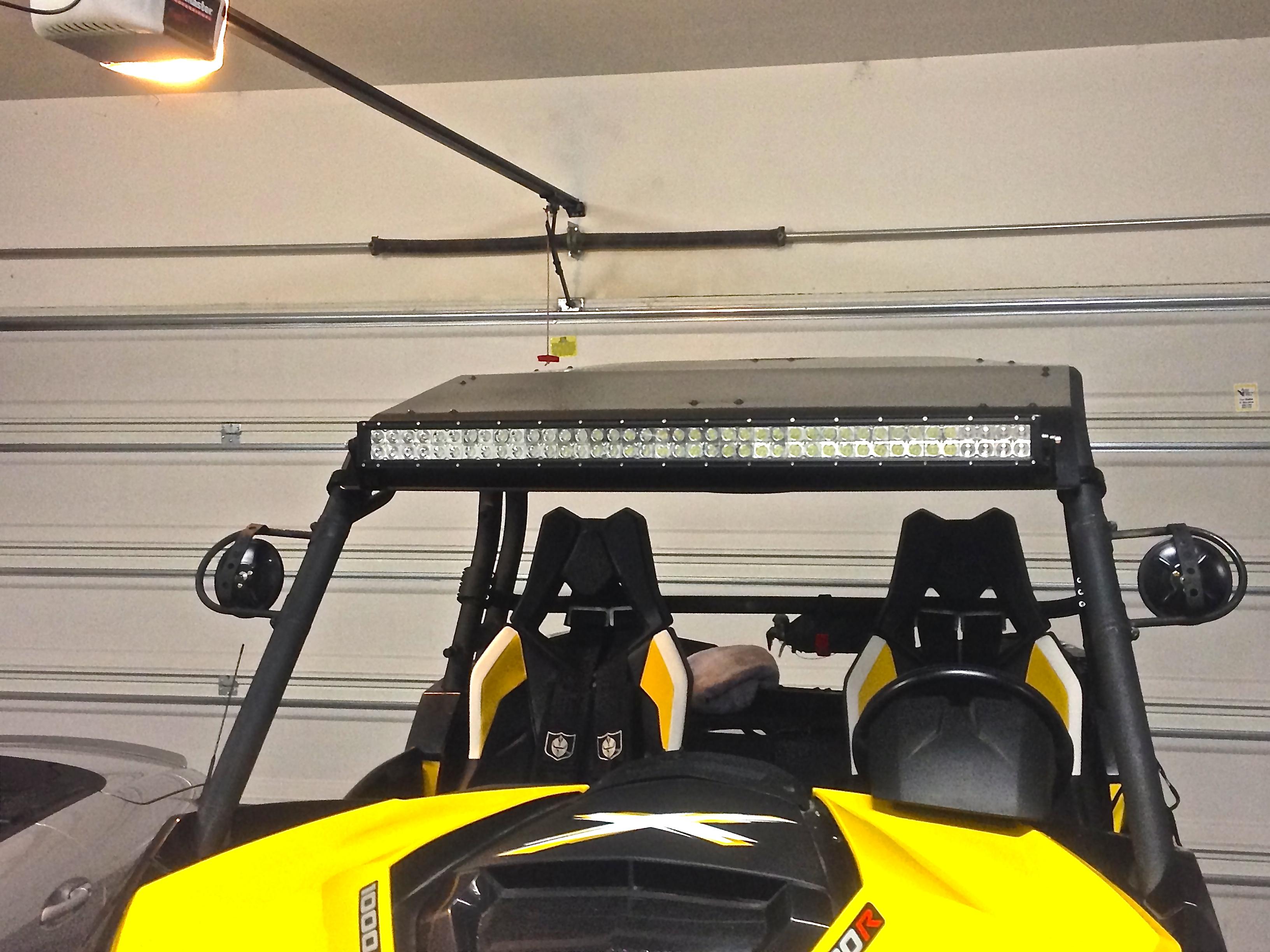 mounting options 40 totron light bar. Black Bedroom Furniture Sets. Home Design Ideas