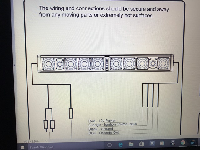 help with wiring up wetsounds stealth ultra 10 soundbar rh maverickforums net wet sounds stealth 6 wiring diagram Basic Electrical Wiring Diagrams