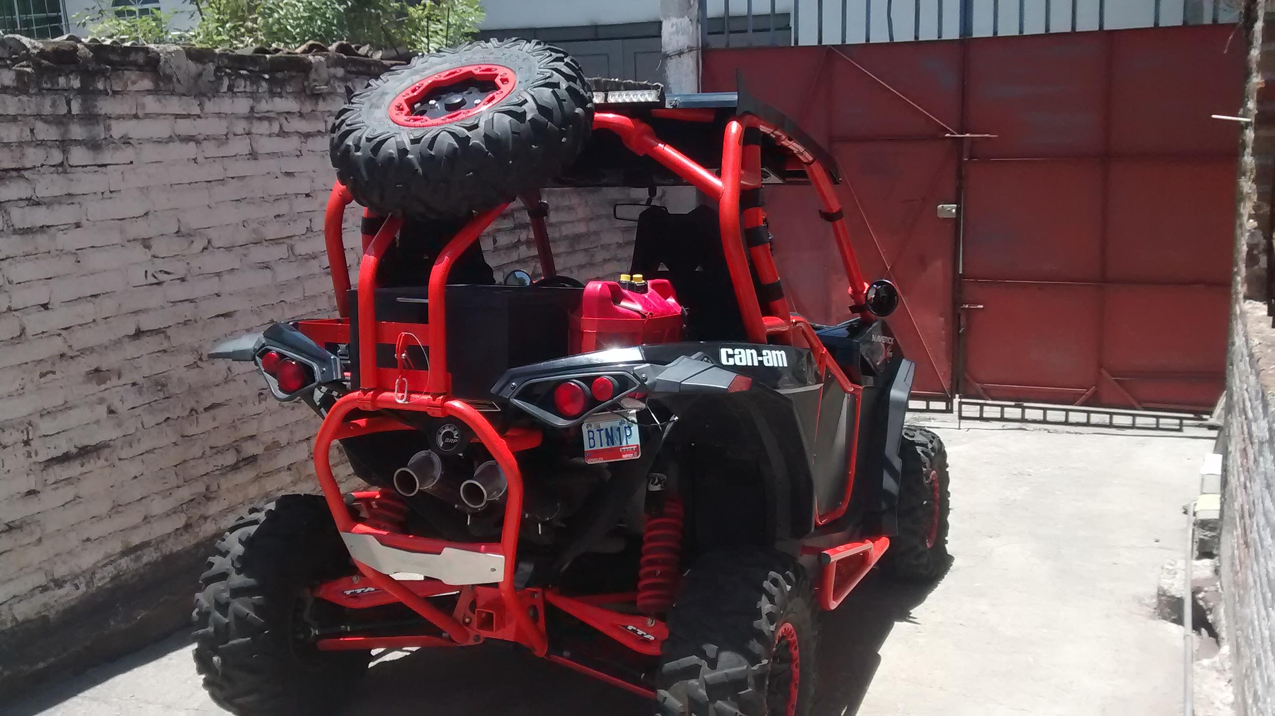 Back Bones Movable Spare Tire