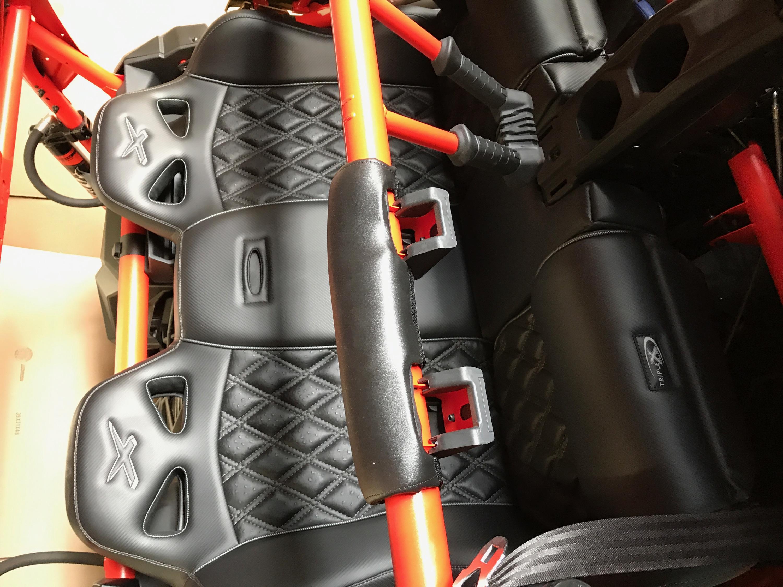 X3 Max Rear Bench Seat