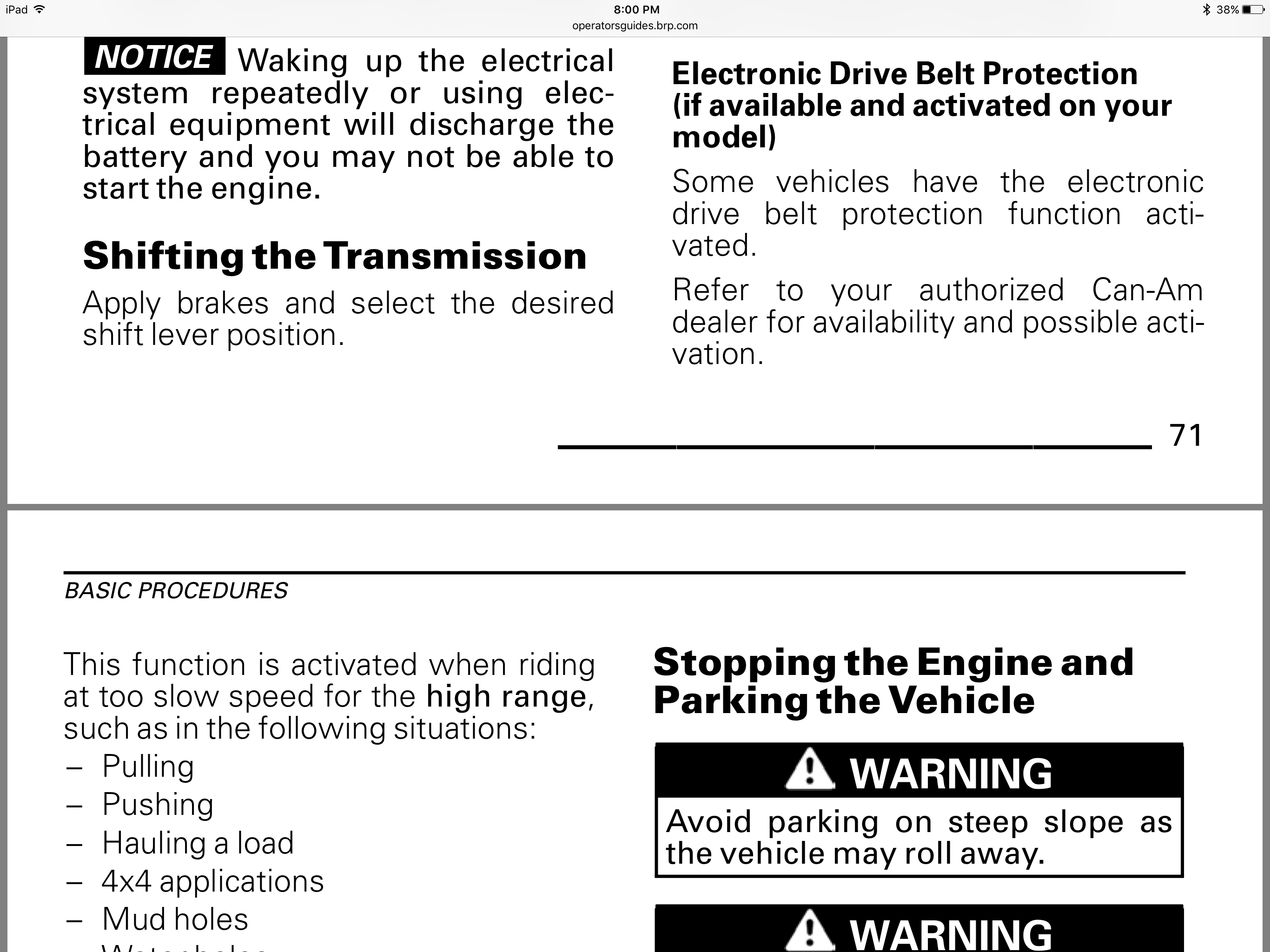 X3 Owners Manual now online