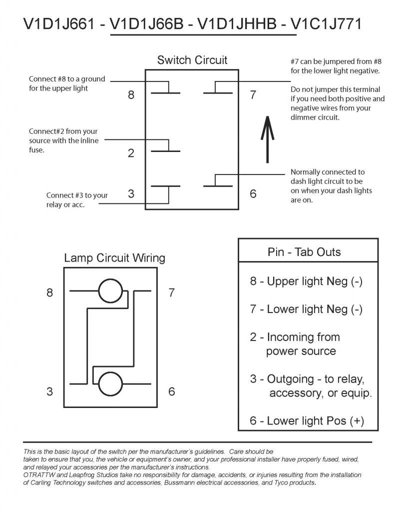 how to wire a rocker switch for 40 totron light j66a jpg views 21540 size 90 7 kb