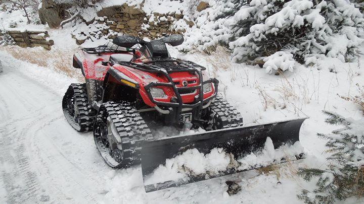 Can-am Outlander ATVs w Tracks
