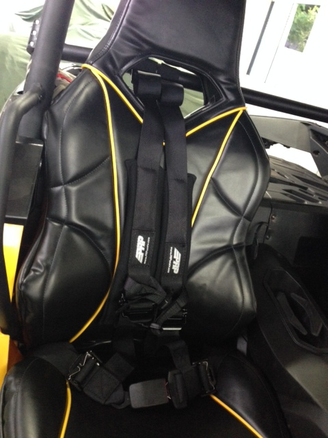 got my PRP 4 2 harness and PRP seat covers