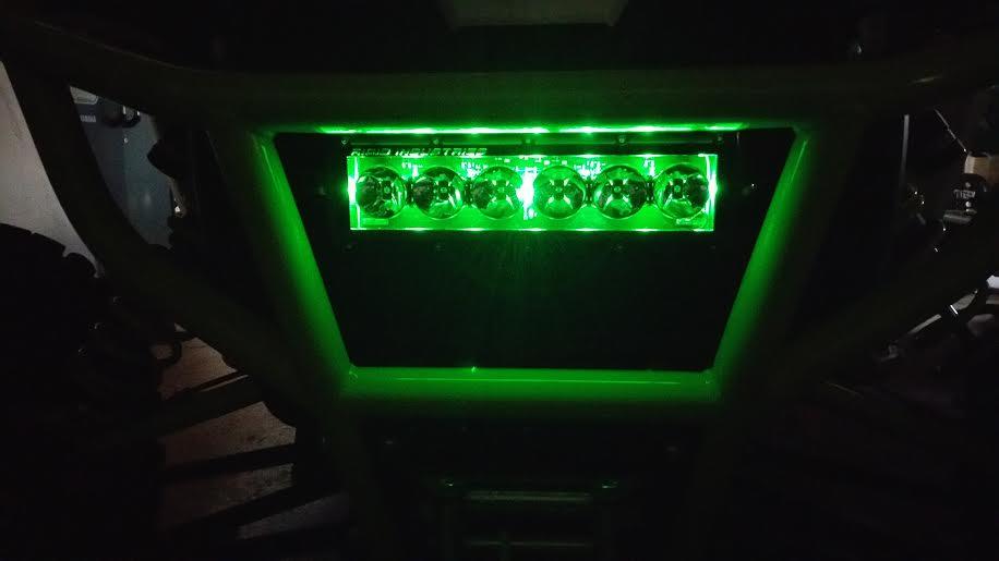New rigid radiance 10 led light bar aloadofball Choice Image