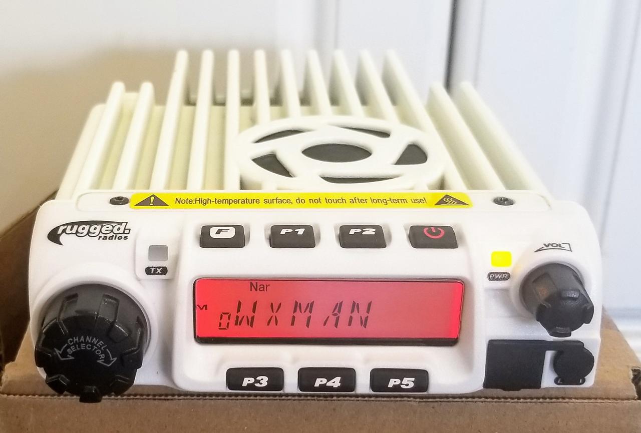 Rugged Radios RM-60 VHF 60-Watt Mobile Radio