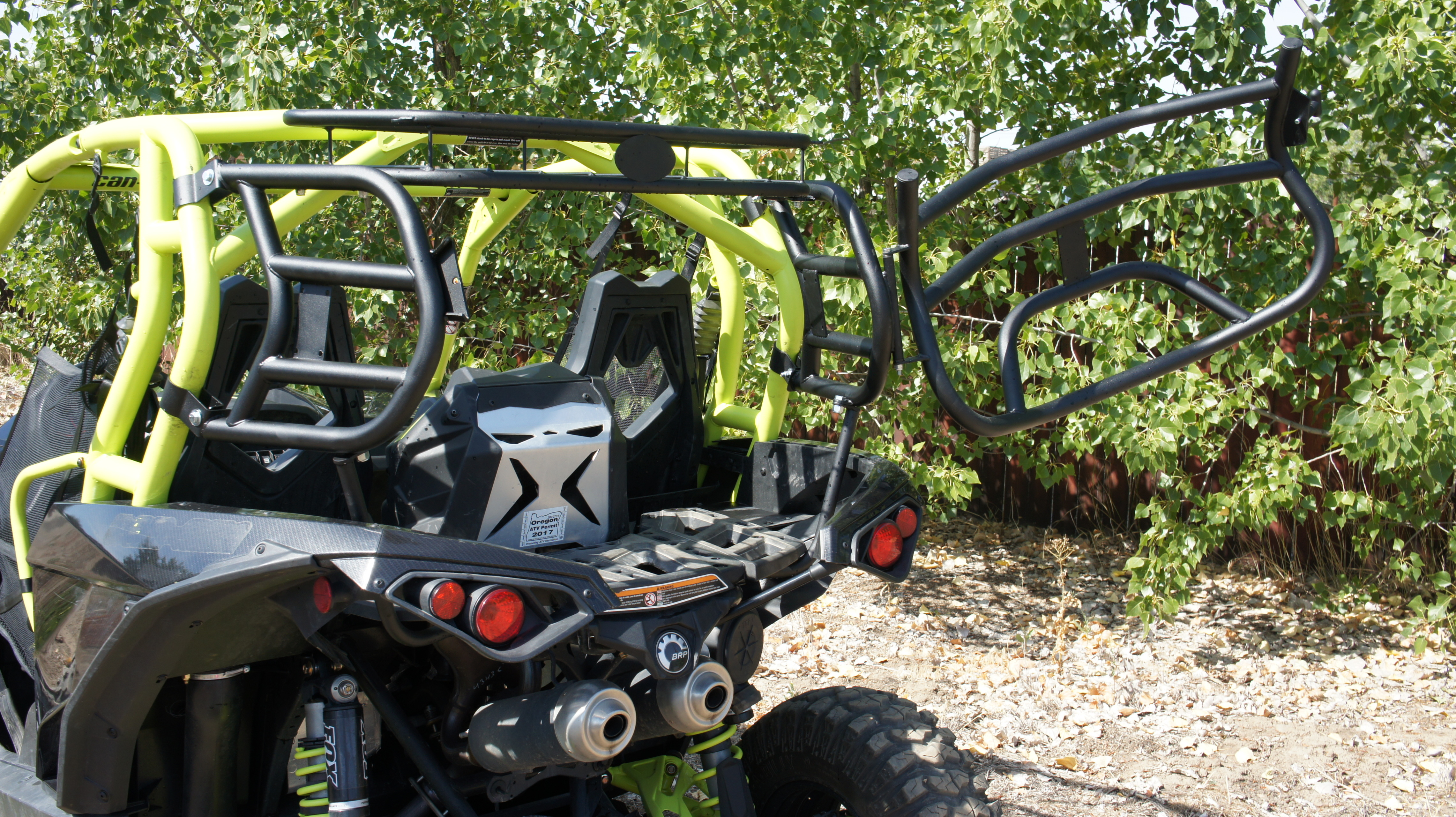 Razorback Offroad Rear Racks For The Maverick Anybody