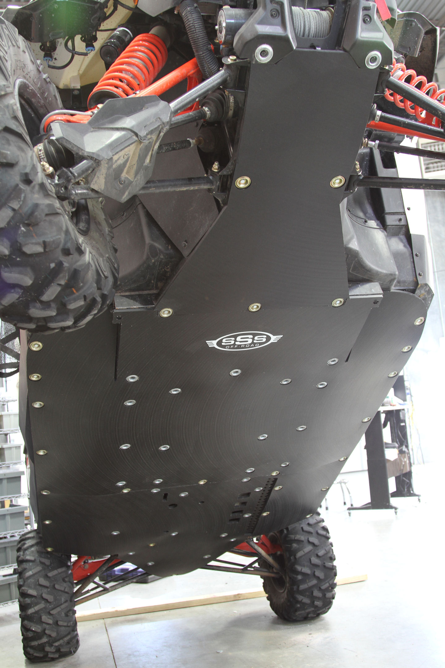 Can Am Maverick Max Xrs 1000 100 Uhmw Skid Plate