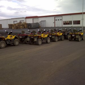 Some of the Outlanders Atv Adventures has.