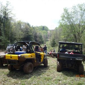 Blue Knob poker run