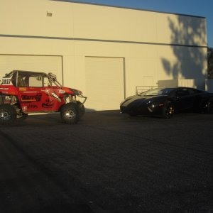 Murray Motorsports and Lamborghini Aventador head to head.