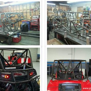 GXP and a RZR cage from a while back while I worked at All Pro Offroad