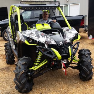 My New 2015 Digi-Camo Maverick X on 9-13-14
