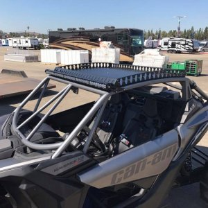 Can Am X3 Chromoly Cage and 6061 T6 Roof Rack