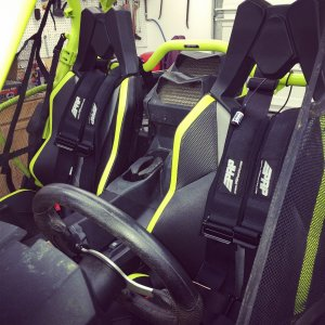 Harnesses, vhf radio and intercom ready to go!