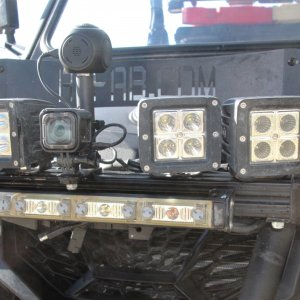 This is the front light-bar.