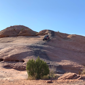 max sport in Moab, went through Fins and Revenge that day