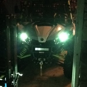 Front view HID's