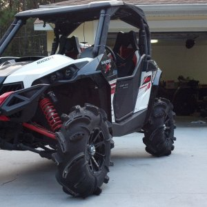 2014 Can-Am Maverick fender Flares MUD STYLE/ COCOA STYLE